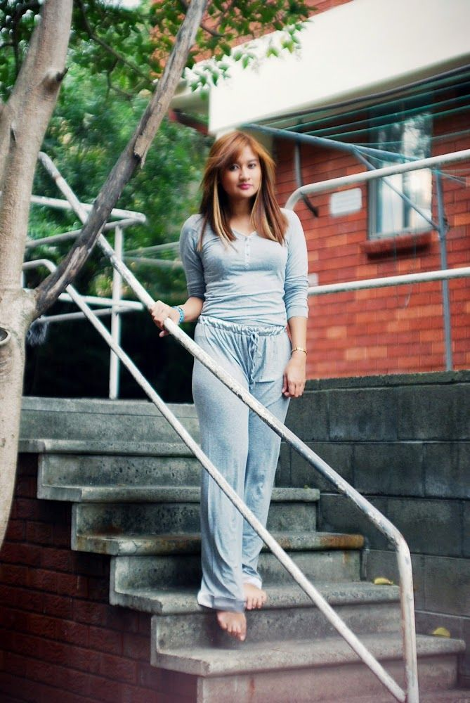 Gingerlilly Sleepwear on Natalie Leung from Lucy and the Runaways