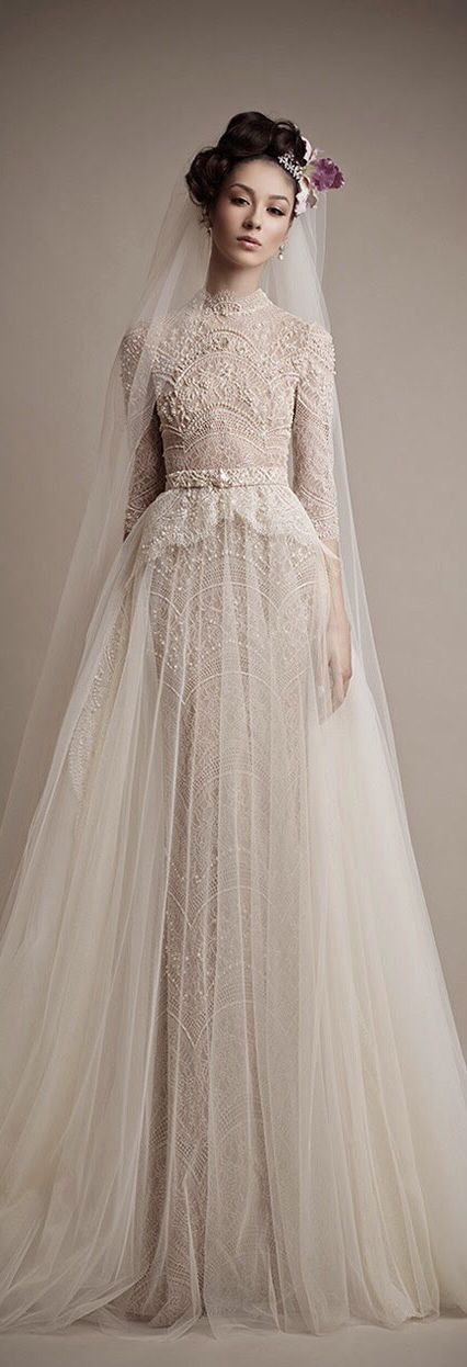Robe de mariée 2015 : la folie de la tendance vintage
