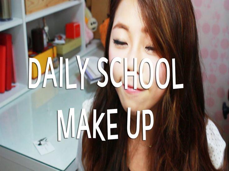 back to school daily makeup ;) 대학생 데일리 메이크업