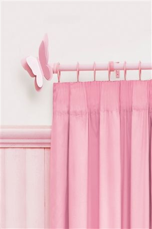 Buy Butterfly Pink Curtain Pole from the Next UK online shop
