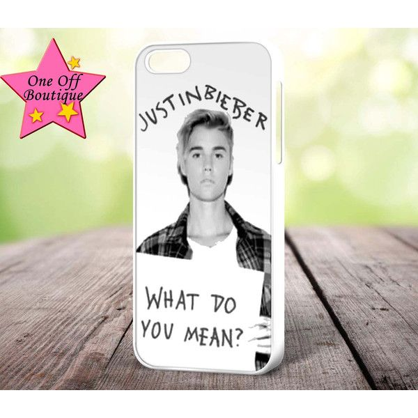 Justin Bieber What Do You Mean? iPhone Cover 4/4S 5/5S 5C 6 6 Plus 6S... (€8,06) ❤ liked on Polyvore featuring accessories, tech accessories, iphone sleeve case, justin bieber, justin bieber iphone case and iphone cover case