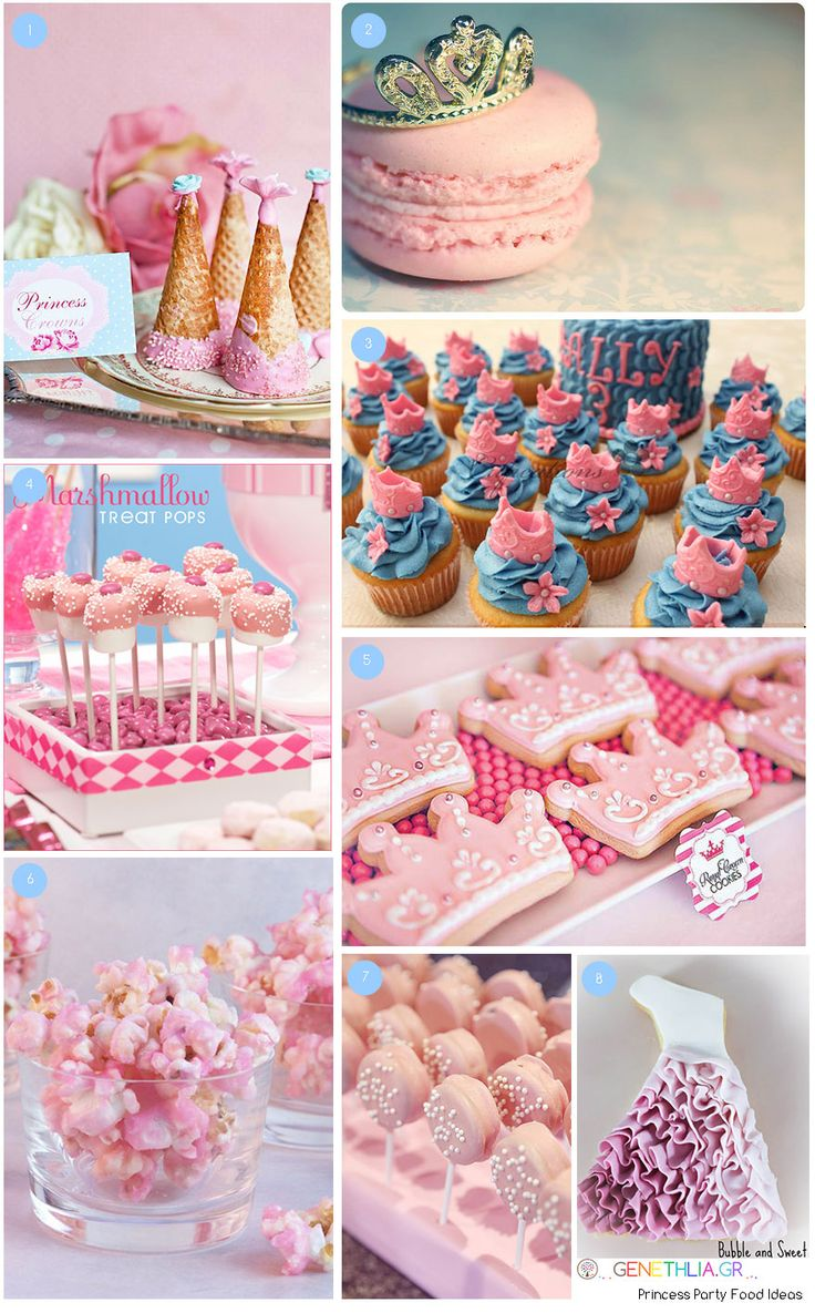 Princess Party Food Ideas!