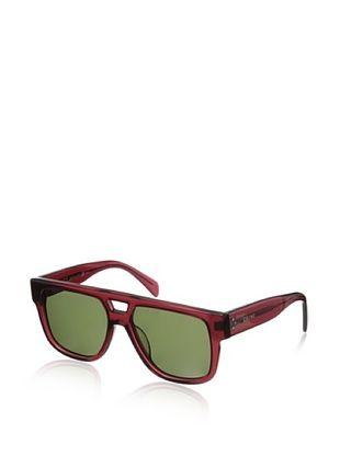 62% OFF Celine Women's CL41024 Sunglasses, Shiny Burgundy