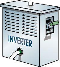 solar inverter illustration