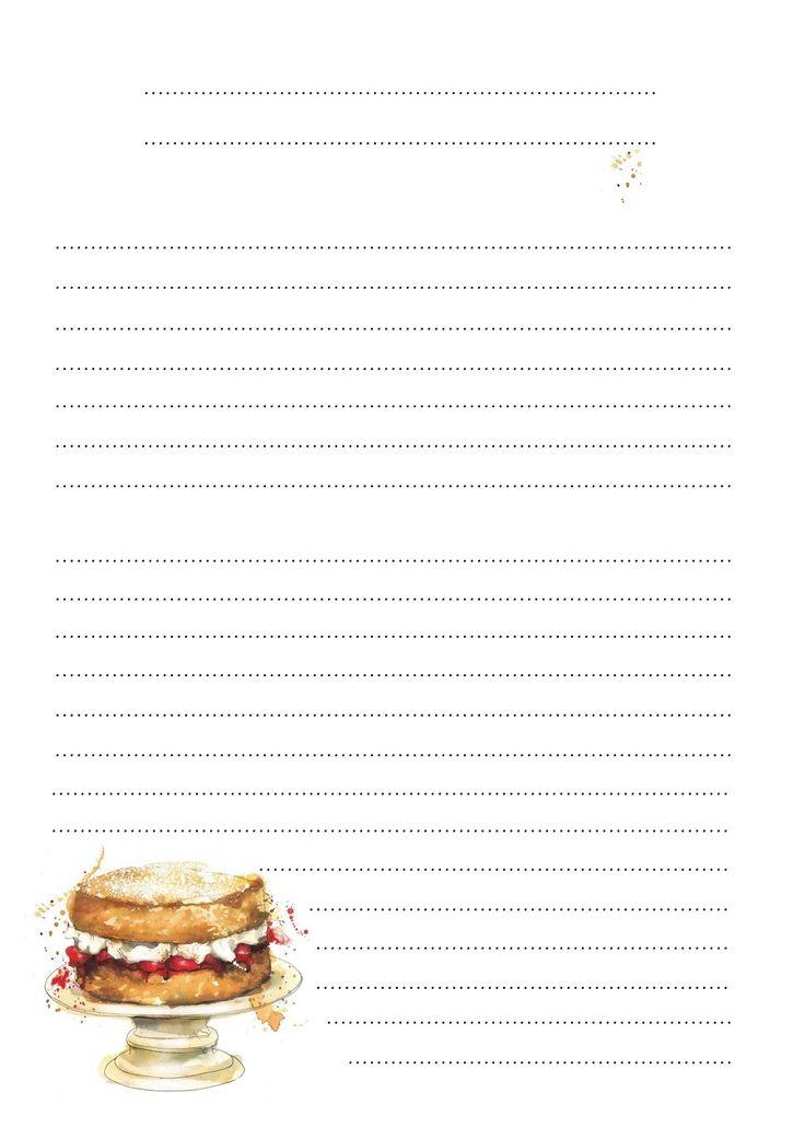 картинки блокнот для рецептов пятьдесят