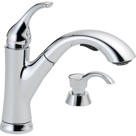 Cleanflo Andromeda Chrome  Handle Pull Out Kitchen Faucet