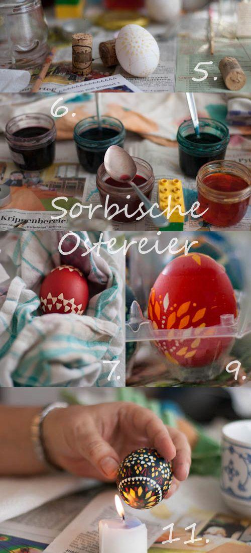 Sorbische Eier to do