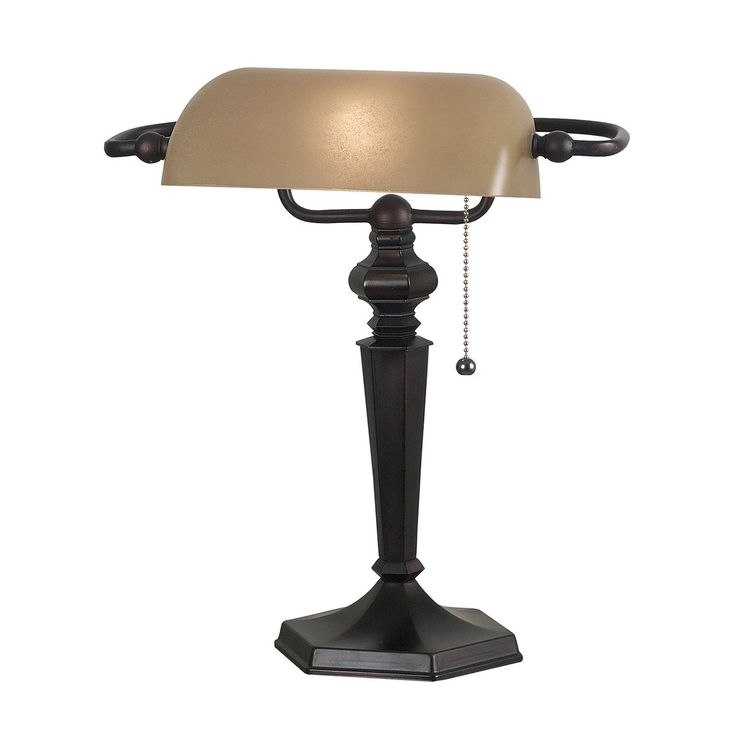 office table lamp. shop kenroy home 20610orb chesapeake bankers desk lamp oil rubbed bronze atu2026 office table
