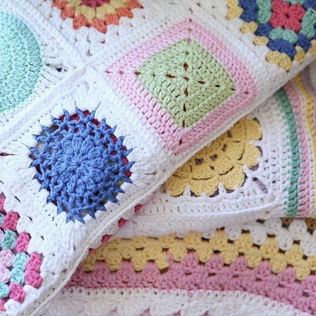 Crochet Blankets - granny squares