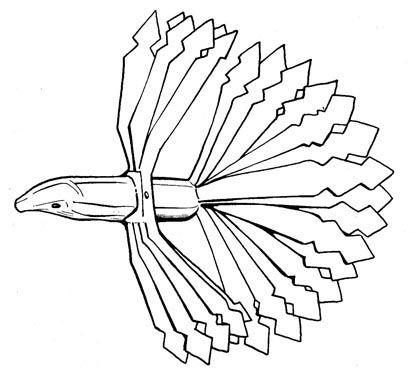 4. ábra. Famadár (Esztelnek, Háromszék m.; Gazda 1980: 266) http://vmek.oszk.hu/02100/02152/html/06/103.html#104
