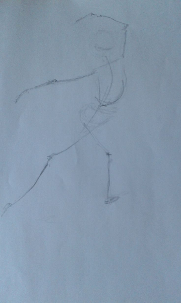 Week 1 Gesture Drawing 2'