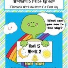 Here is Unit 5 Week 2!  I have added a few more new resources to accompany the Wonders reading series by McGraw Hill.  It's all here! Each day incl...