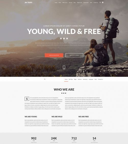 Must check this #onepage #Joomla #travel #template! Impressive #design. Perfect for local travel #agency.