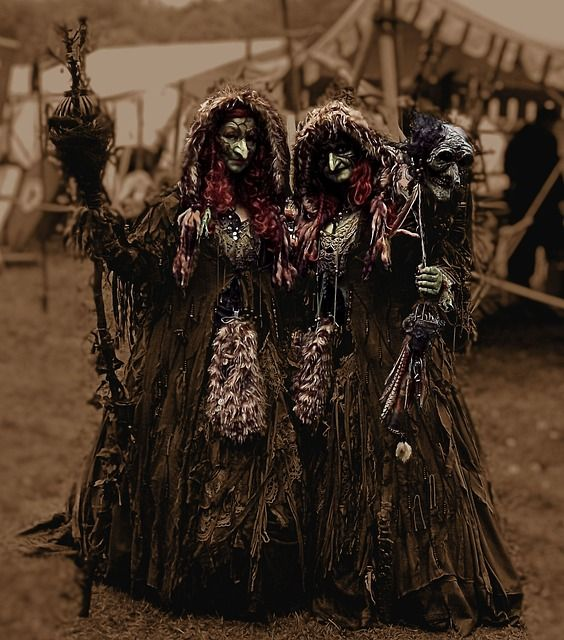 Forest witches--don't be afraid.