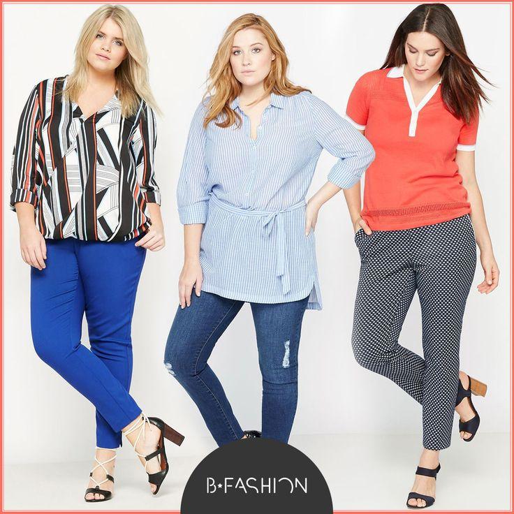 Plus size divat: blúzok és nadrágok tavaszra: 🍀 https://hu.bfashion.com/maxi-blouses-trousers🍀