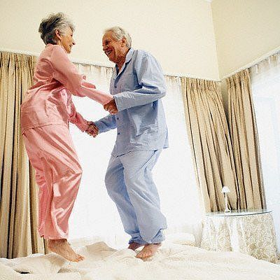 I plan to still have fun when we are old. Hahaha These are real relationship goals //