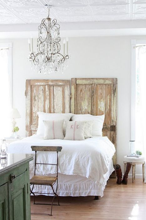 Love this idea… it's either this or an upholstered headboard for the guestroom. How will I ever decide?!?!? :)