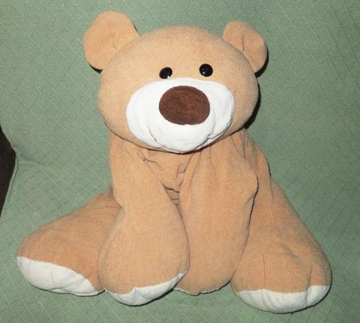 "22"" Jumbo Teddy Bear Commonwealth Pillow Plush Stuffed Animal Cuddly Soft Toy #CommonwealthToys"