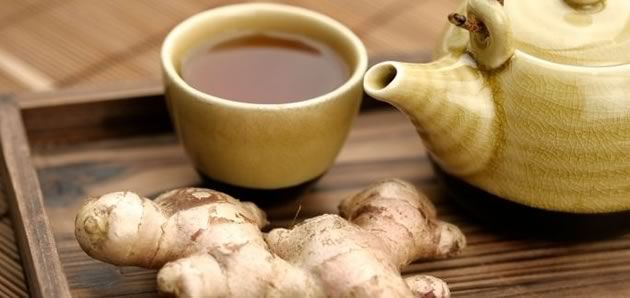 Ginger Tea as Digestive Aid:  Ginger tea's property of being a digestive aid is largely due to the Shogoals and Gingerols, the major active ingredients of Ginger. These ingredients help to neutralize the acids in the stomach, stimulate the secretion of digestive juices, and tone the digestive tract's muscles.  Ingredients  2 T. grated ginger root  2 c. water  Directions  Boil the water in a small saucepan and stir in the ginger root.   Drink straight or add lemon and/or your favorite…