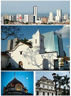 Cali - COLOMBIA :D. Got married in that church (in the middle). Iglesia de la Merced