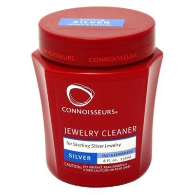 Connoisseurs Jewelry Cleaner Silver 8oz - http://www.jewelryfashionlife.com/connoisseurs-jewelry-cleaner-silver-8oz/