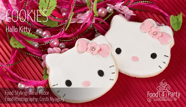 Biscuiti Hello Kitty | food4party