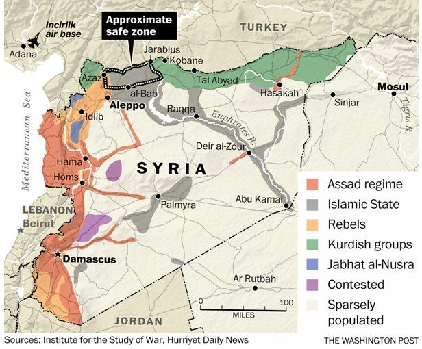 Suriye-el-bab, ışid, Rusya, Abd