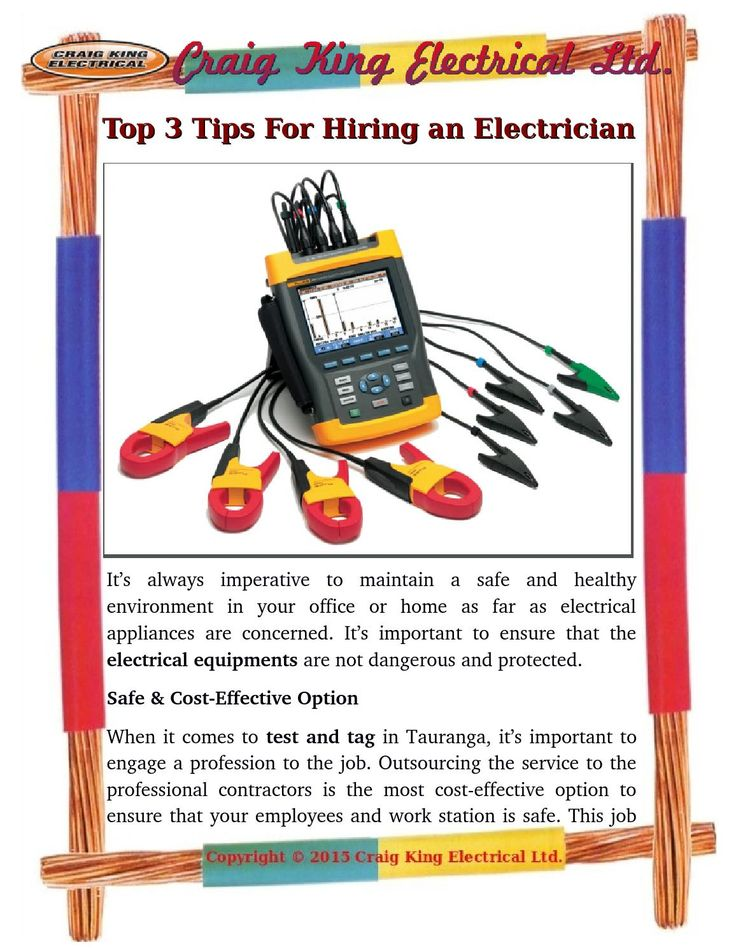 Most problems with the #electrical wiring in an #industry take a #professional #electrician to handle it. But how to choose the best electrician. Visit here top three tips for the right electrician.