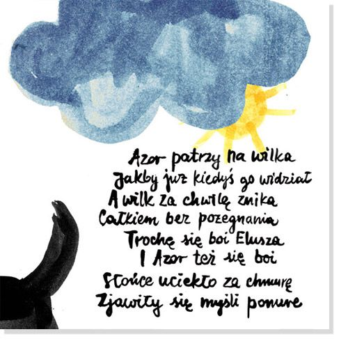 an illustration from Little Yelow Hood / by kasia dippel