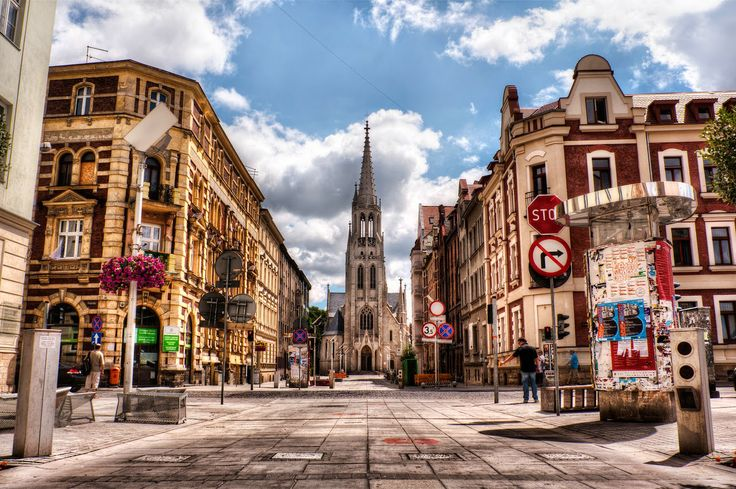 #Mariacka Street in #KAtowice #Poland