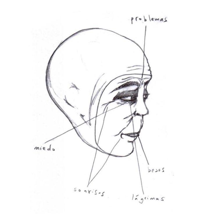 Old face by Irene Matarrodona (2008)