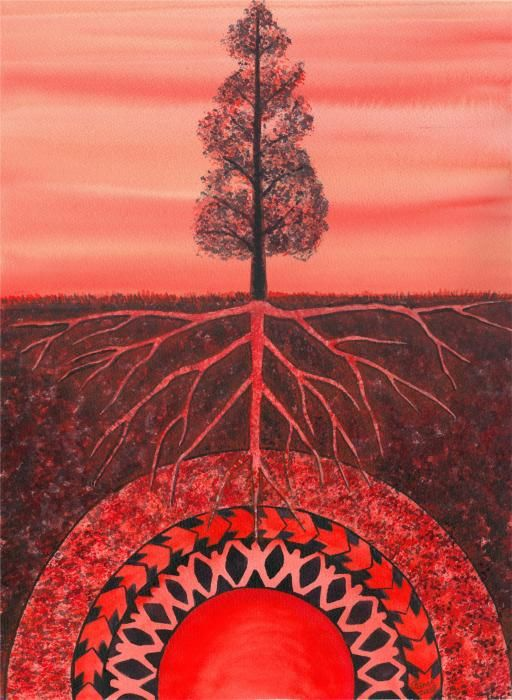the root chakra by Catherine