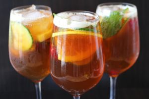 Pimm's cup: the perfect summer cocktail! Cheers