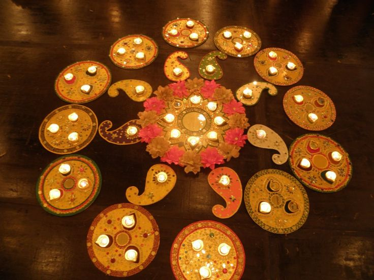 All in One..The best: Mehndi trays and dudh pila glass decoration ...