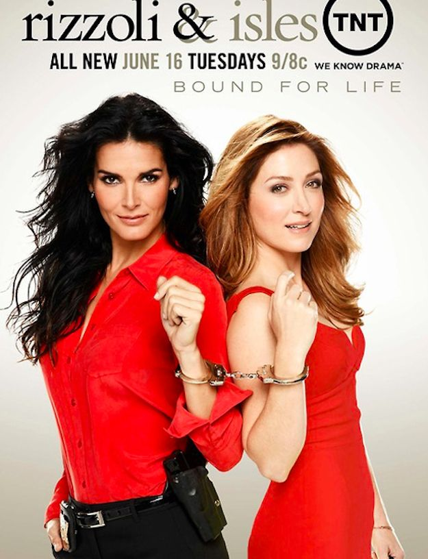 """With this new promo for Season 4, Rizzoli and Isles has truly outdone itself. 