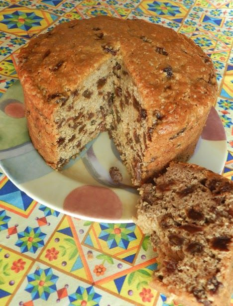 Bara Brith atop one of my fabric designs at Spoonflower  Oh My Goodness this is such an excellent recipe from a copy of British Country Li...