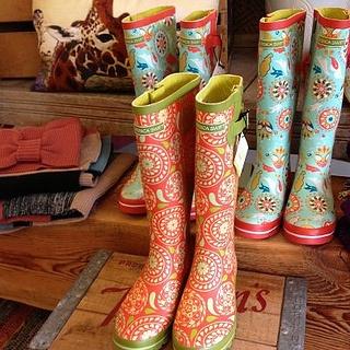 Jessica Swift rain boots // at Branch & Birdie in Portland, OR http://www.branchandbirdie.com