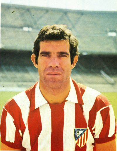 Luis Aragonés (Atlético Madrid, 1964–1974, 372 apps, 172 goals)