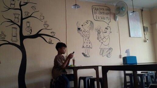 Karya seni aurel kopi
