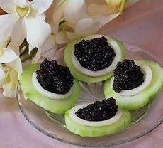 Easy and quick appetizers with caviar.Beautiful and Delicious.   For more delicious pics and recipes visit: http://best-recipes.salamandra-review.com