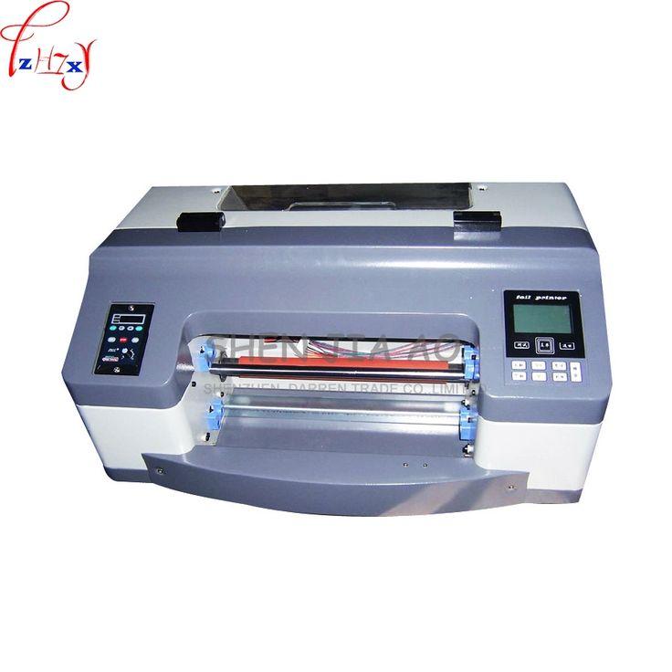1230.00$  Watch here - 1 pc 220v 300mm digital hot foil stamping printing machine Semi-Automatic Digital Label Printer DC300TJ 200dpi Flatbed printer  #buyonline