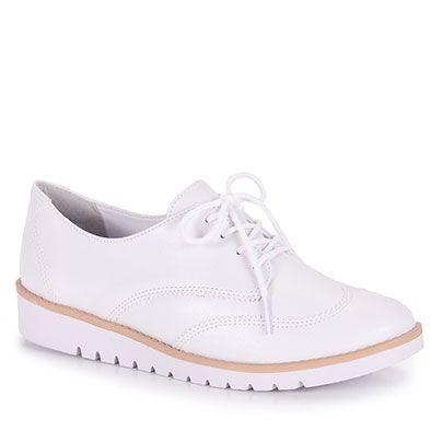 Sapato Oxford Feminino Ramarim - Branco