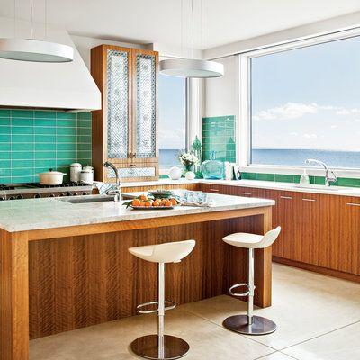 10 Most Popular Kitchens. Coastal KitchensBeach House ...