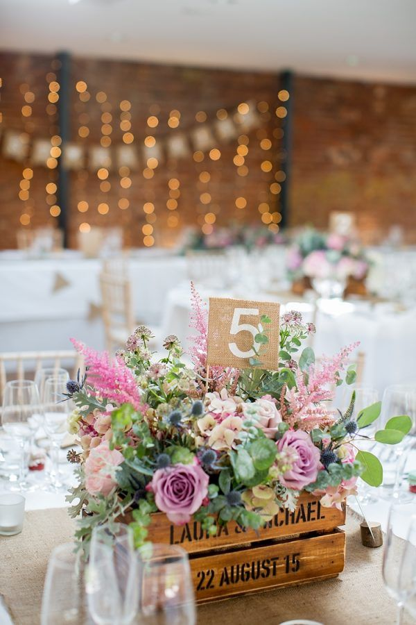 wedding table numbers hessian fabric available from @thewedingomd…