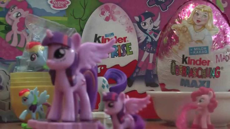 Twilight Sparkle My little Pony Edition Maxi Kinder Surprise Eggs (No.3 ...