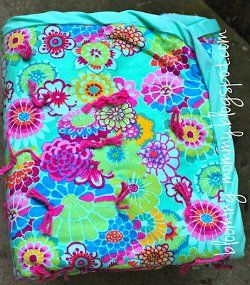 65 best Tied Quilts images on Pinterest | Knitting tutorials ... : tied quilt patterns - Adamdwight.com