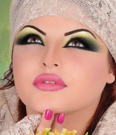 This Is The Image Gallery Of Arabic Bridal Makeup Tips 2014 For Wedding Day You