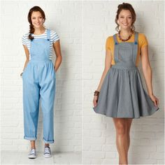 Sew a capsule weekend wardrobe with The Sunday Set pattern from Cotton + Chalk. Pattern no.03 free with issue 21 of Simply Sewing magazine #sewingpattern #sewing #dressmaking http://www.simplysewingmag.com/home/simply-sewing-issue-21/