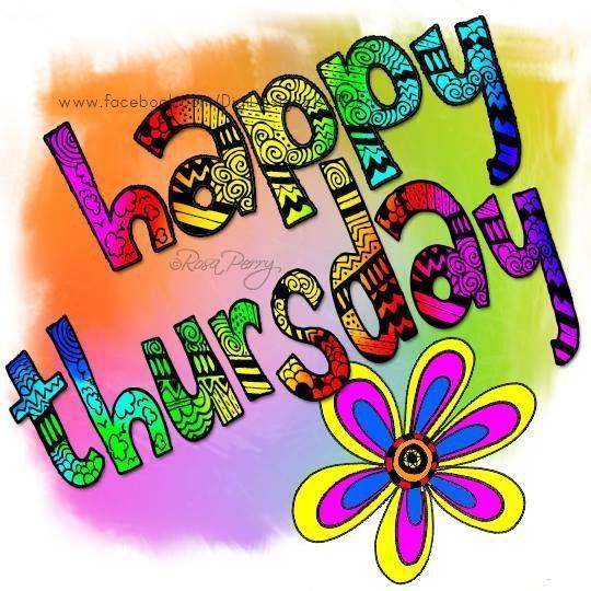 Happy Thursday everyone!