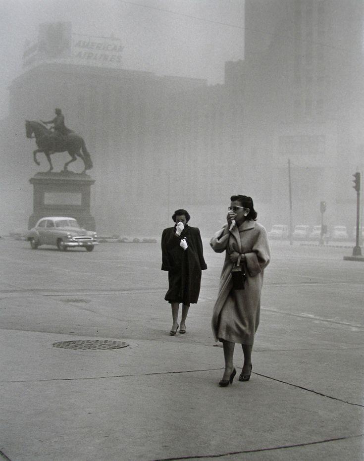 Rodrigo Moya, Polvareda, Ciudad de México, 1958